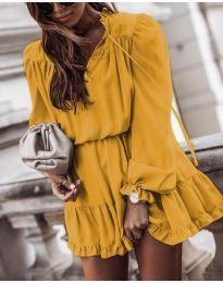 Šaty - kód 3231 - žlutá
