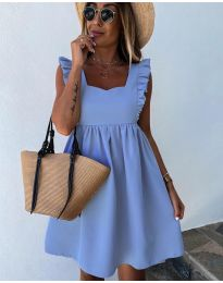 Šaty - kód 818 - modrý