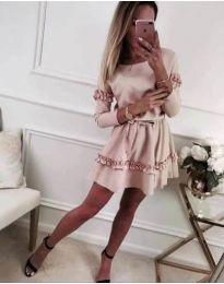 Šaty - kód 697 - růžova
