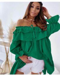 Šaty - kód 9865 - zelená