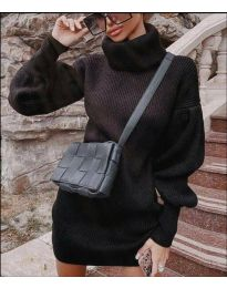 Šaty - kód 2884 - černá