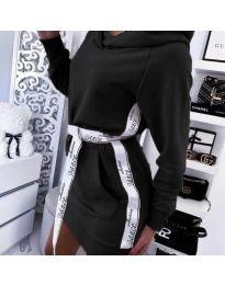Šaty - kód 4483 - černá