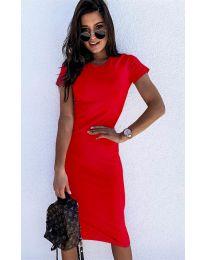 Šaty - kód 682 - červená