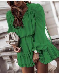 Šaty - kód 3231 - zelená