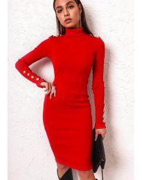 Šaty - kód 11513 - červená