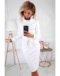 Šaty - kód 219 - bíla