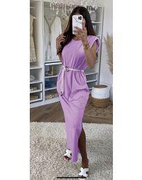 Šaty - kód 7049 - světle fialová
