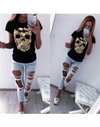 Tričko - kód 2958 - černá