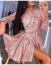 Šaty - kód 2428 - růžová