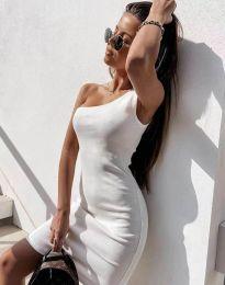 Šaty - kód 6412 - bílá