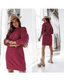 Šaty - kód 129 - bordeaux