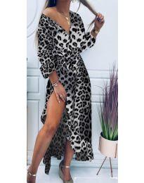 Šaty - kód 5454 - 4 - vícebarevné