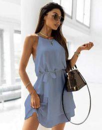Šaty - kód 9968 - světle modrá