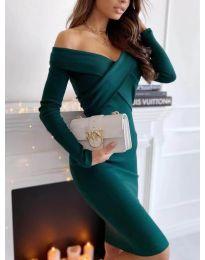 Šaty - kód 6130 - olivová  zelená