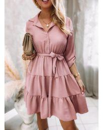 Šaty - kód 6970 - růžova