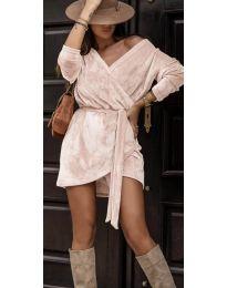 Šaty - kód 238 - růžová