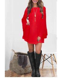 Šaty - kód 8102 - červená