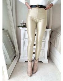 Kalhoty - kód 2789 - 4 - barva šampaňské