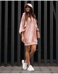 Šaty - kód 4547 - růžová