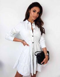 Šaty - kód 3852 - bílá