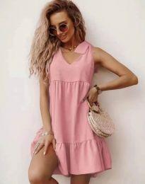 Šaty - kód 7206 - růžová