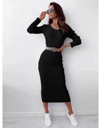 Šaty - kód 5878 - černá