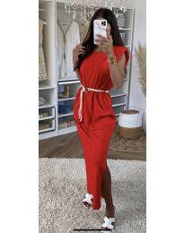 Šaty - kód 7049 - červená
