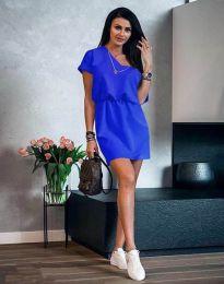 Šaty - kód 3214 - modrá