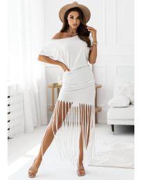Šaty - kód 12003 - bílá