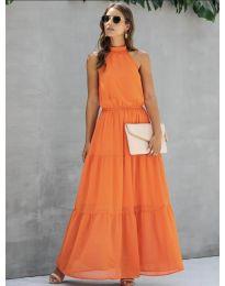 Šaty - kód 8855 - oranžová