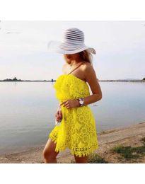 Šaty - kód 4849 - žlutá