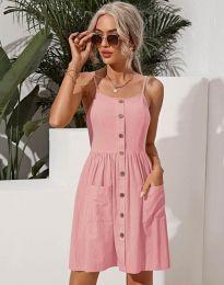 Šaty - kód 6271 - růžová