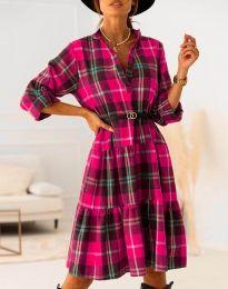 Šaty - kód 6842 - růžova