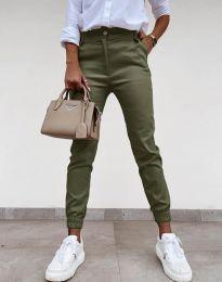 Kalhoty - kód 4464 - olivově zelená
