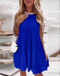 Šaty - kód 0889 - modrá