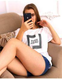 Tričko - kód 3513 - bíla