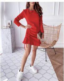 Šaty - kód 832 - červená