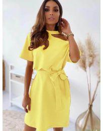 Šaty - kód 0006 - žlutá