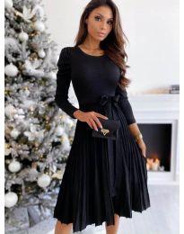 Šaty - kód 3939 - černá