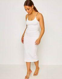 Šaty - kód 2580 - bílá