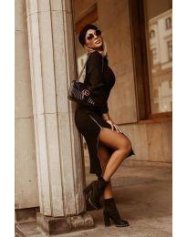 Šaty - kód 6585 - černá