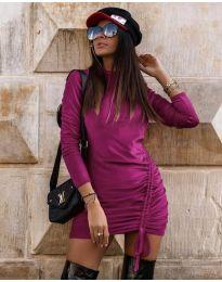 Šaty - kód 9545 - fialová