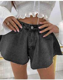 Krátké kalhoty - kód 3880 - 1 - šedá