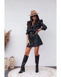 Šaty - kód 3008 - 1 - černá