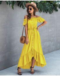 Šaty - kód 564 - žlutá