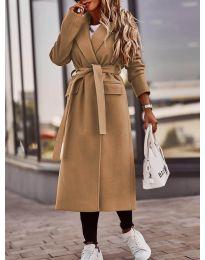 Kabát - kód 7989 - hněda