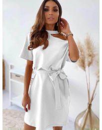 Šaty - kód 0006 - bílá