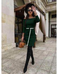 Šaty - kód 5190 - zelená