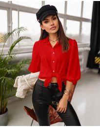 Košile - kód 7482 - červená
