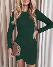 Šaty - kód 2835 - zelená